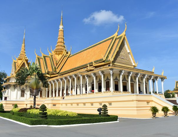 Royal Palace Phnom Pen