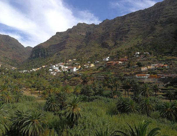 gomera valle rey